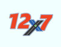 12x7 Logo Design