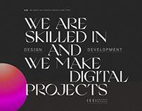 Patrick David Creative Studio - Agency Site