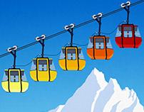 La Grave Ski Resort Poster
