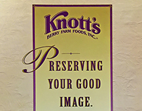 Knott's Berry Farm | Hunt-Wesson Pocket Folder