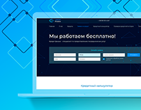 Credit Finance - Corporate website for the company