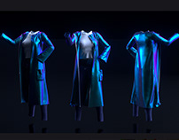 3D clothes - Marvelous designer