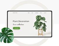 Landing Page Plant Shop