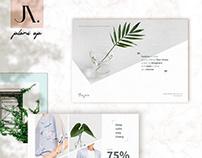 Postcard Flyer Fashion