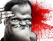 Tarantino caricature