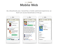 Goodreads Mobile Web