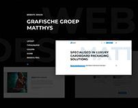 Rebranding Groepmatthys.com