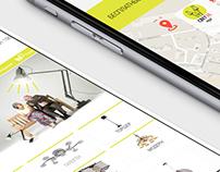 Svet-36 Website. Design and HTML/CSS coding.