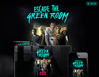 Escape The Green Room Microsite & Key Visuals