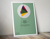 RUN - Randoms // Event Poster