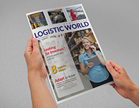 Logistics Services Newsletters Template - 8 Pages