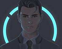 Detroit Become Human // Connor fan art