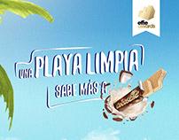 Una Playa Limpia Sabe Más a Cocosette®