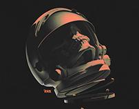 Space Skull Noir