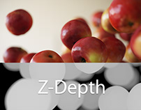 How to render Z-Depth elements only in Corona Renderer