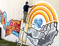 UNITED PASSION MURAL- PROCESS