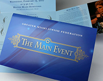 The Main Event Invitation