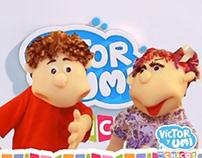 Víctor y Umi con los Chicos