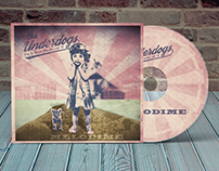 album cover and cd packaging design for Melodime