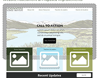 Headwaters Science Institute UI/UX and Redesign