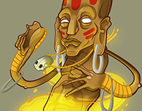 Dhalsim Fan Art.