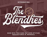 The Blendhes Font | Free Download