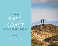 Top 3 East Coast Hiking Destinations