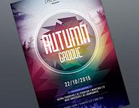 Autumn Groove Flyer