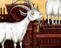 Year of the Goat / Chinese New Year Illustration