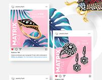 Брендированные баннеры для Instagram в Photoshop