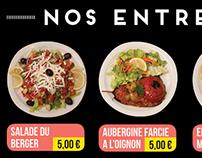 2014-Menu design for a kebab restaurant