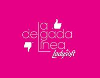 Ladysoft - Delgada línea. Toallitas delgadas