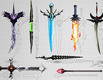 Weapons UI Design - Quick Definition
