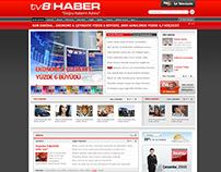 Farklı Haber 8, News Portal for TV8, 2010
