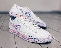 Custom Nike Blazer Low's