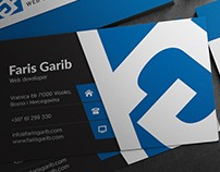 B.Card for Faris Garib