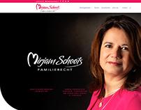 WordPress webdesign voor Mirjam Schoots Familierecht
