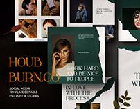 Houburn.Co Instagram Posts & Stories
