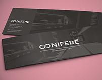 Conifere Innenausstattung - Brochure & Logo