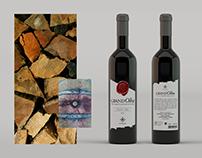 Grand'Olha wine label