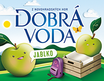 Fruit water for children, KVM, Czech republic
