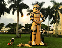 Golden Knight - FAU Bonfire 2019