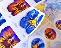 Canada Post: Pansies Stamp