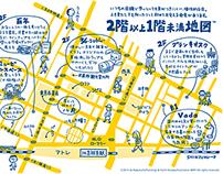 Illustration MAP [ Tokyo kichijoji ]