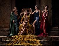 Velvet Muses / Sensualité campaign