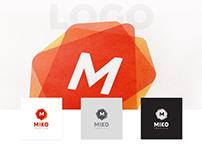 MIKO - FREE Customizable Logo, Pattern and Stationery