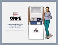 Ilustraciones ONPE 2017