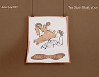 Tea Stain Illustrations