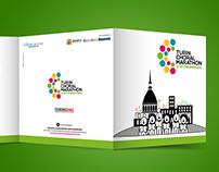 Turin Choral Marathon. Visual identity // Communication