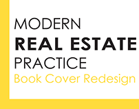Modern Real Estate Practice Book Cover Redesign